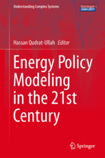 Energy policy modeling book 2013